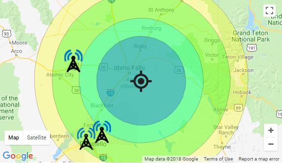 Winegard Antenna Mapp