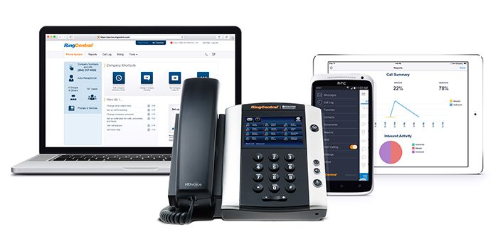 RingCentral Business Phones and App